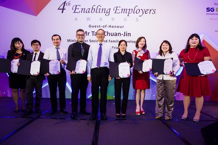 4th Enabling Employers Award