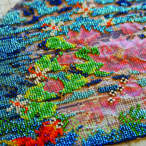 Beading Workshop with National Gallery